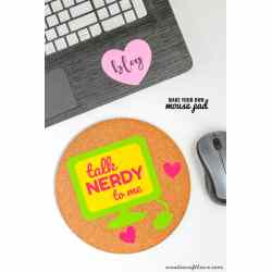 Amazing Make Your Own Mouse All You Need Is A Cork Some Adhesive Make Your Own Mouse Pad Create Craft Love Create Your Own Gel Mouse Pad Create Your Own 3d Mouse Pad
