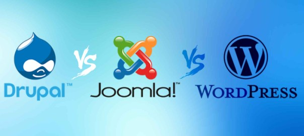 Wordpress VS Joomla VS Drupal