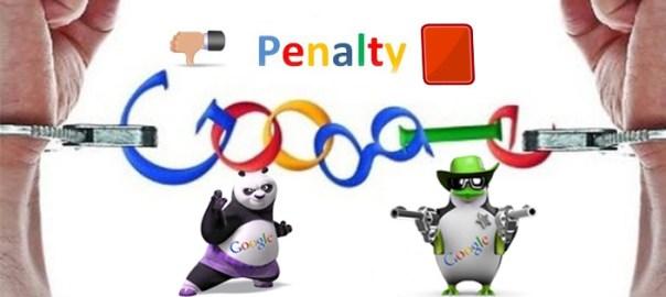 pénalisation google
