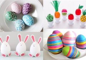 17 idei creative de a decora ouăle de Paşte