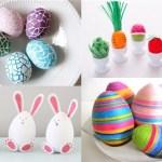 17 idei creative pentru a decora ouă de Paşte unicat