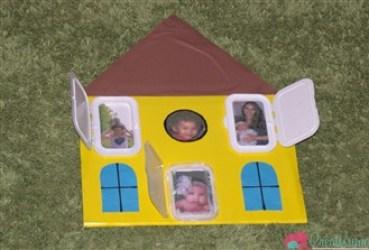 Casuta familiei - activitate pentru copii de la 1 an in sus