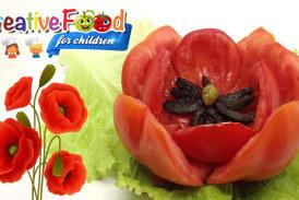 Rosolaccio il Papavero di pomodoro