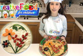 Focaccia Art con verdure