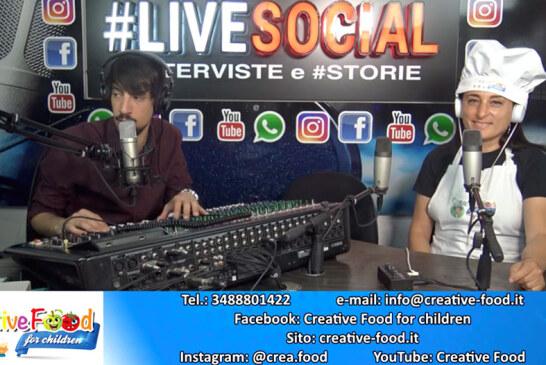 Intervista al Creative Food    Radio Roma Capitale / #Livesocial