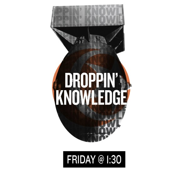 Droppin' Knowledge | Creative Circus Forums, Winter 2013