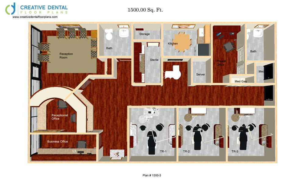 Galleryitem  Creative Dental Floor Plans