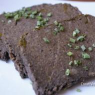 Paté de champiñones al cilantro