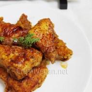 Tofu crujiente con salsa al ajo y melaza
