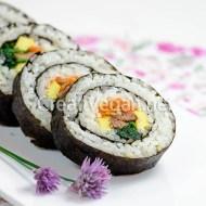 Gimbap/kimbap vegetal