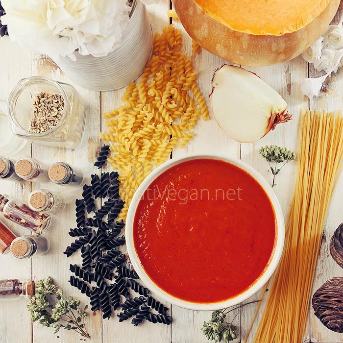 "Salsa de tomate ""de bote"""