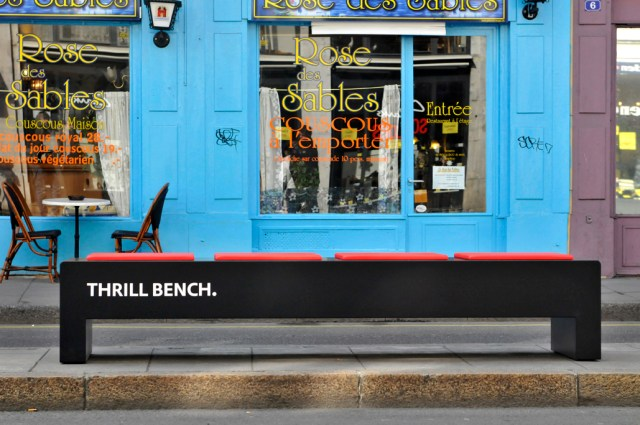 MINI's Thrill Bench Leaves You Invigorated And Wanting More Guerrilla Marketing Photo