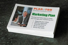 marketing plan business cards