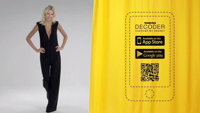 Wonderbras Sexy Ad Decoder App Allows You To See Whats Under The Dress Guerrilla Marketing Photo