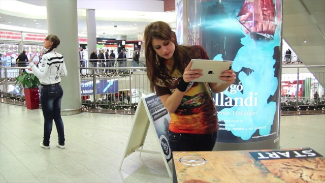 What Does Augmented Reality Look Like in 2013? Guerrilla Marketing Photo