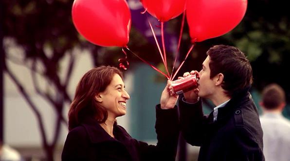 coke balloons