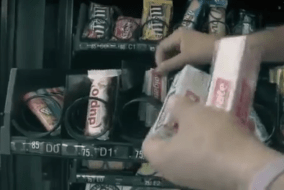 Colgate Vending Machine