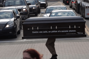 What Would You Do If a Coffin Crossed the Road