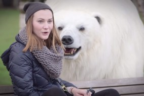 Sky Atlantic Promotes New Tv Show Fortitude by Releasing a Polar Bear in London