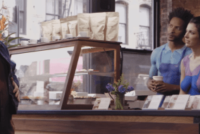 Nestlé uses nude baristas to sell coffee creamer!