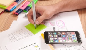 mobile marketing for millennials stock