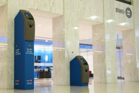 BMO welcomes NBA All Stars with a 10ft tall ATM