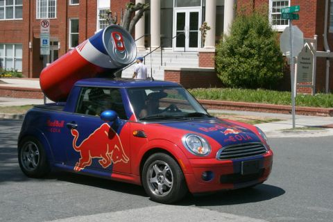 Marketing Like a Red Bull Guerrilla Marketing Photo