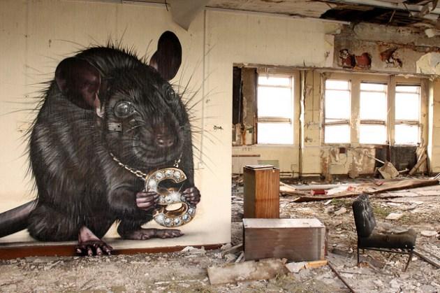 5 Amazing Street Artists To Follow In 2012 [PHOTOS] Guerrilla Marketing Photo