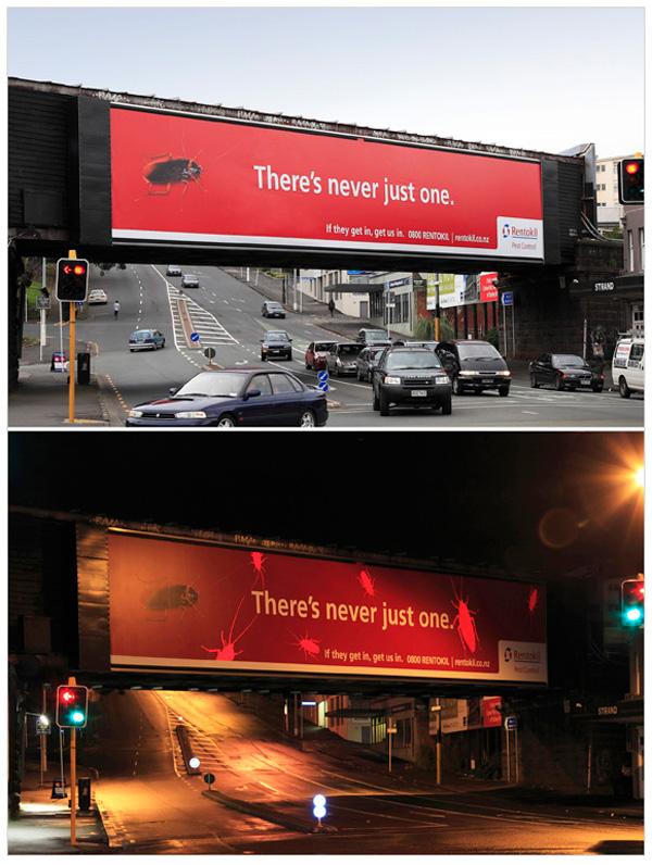 böcek reklamı