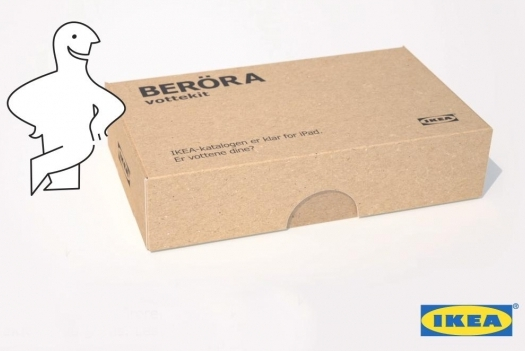 IKEA Creates DIY Sewing Kit to Create iPad Compatible Gloves Guerrilla Marketing Photo