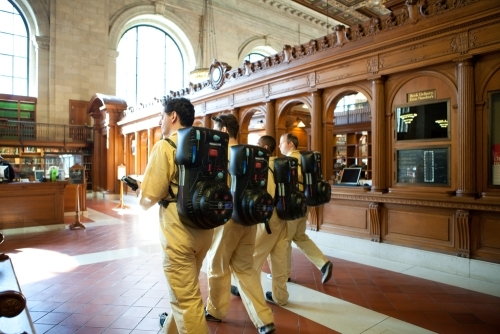 Improv Everywhere Creates Buzz for Ghost Busters Guerrilla Marketing Photo