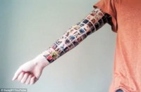 [BREAKING] Facebook Arm Tattoo a Publicity Stunt Guerrilla Marketing Photo