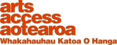Arts Access Aotearoa logo