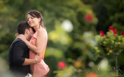 Photographe mariage – Séance couple – Parc des Eaux-Vives