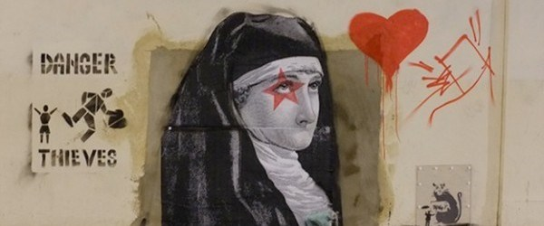 Banksy artwork taken from north London removed from sale and new artwork appears