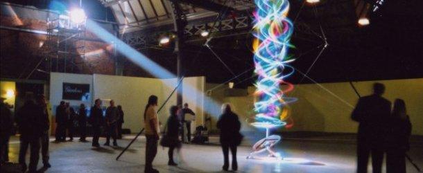Vibrating String Reveals Colour Spectrum