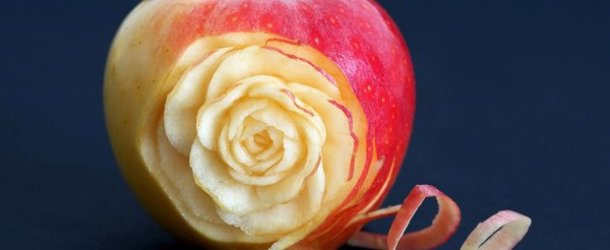 Food Carving Art Photography