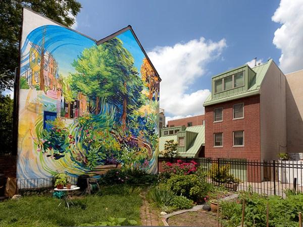 Garden of Delight Mural