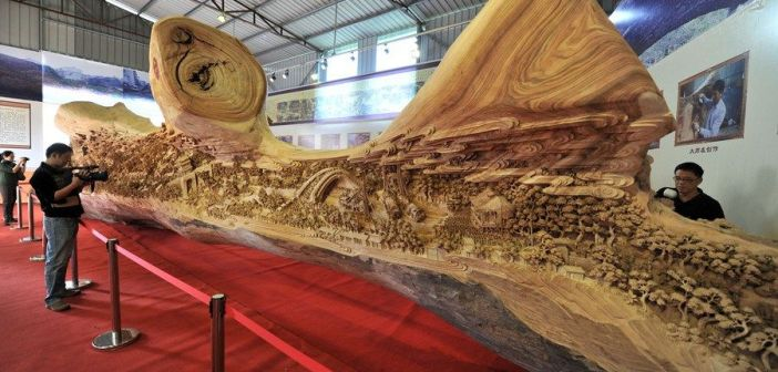 longest-wood-carving