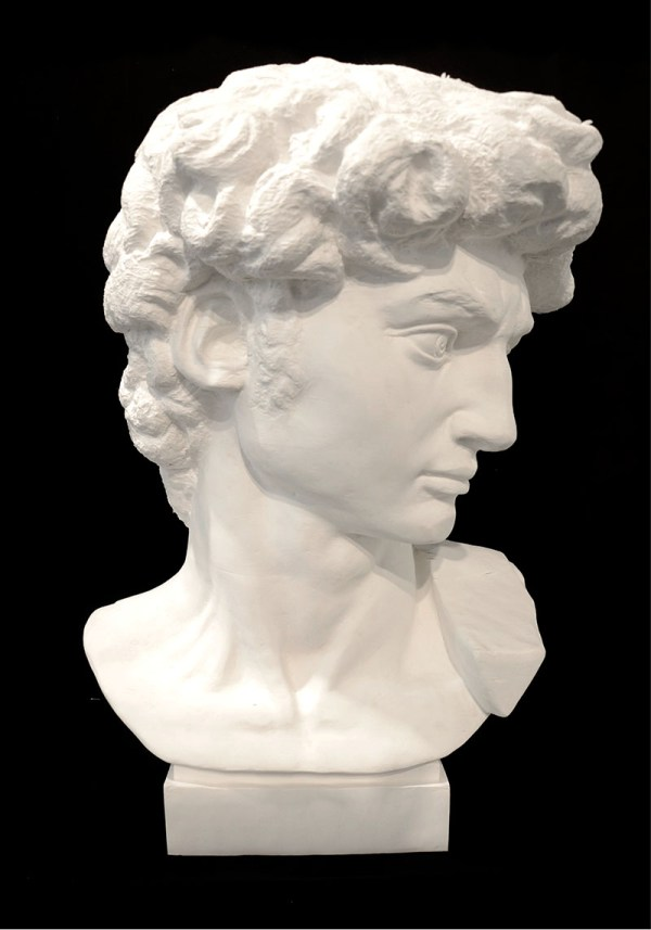 Li_Hongbo_Bust_of_David_paper_70x50x50cm_2012_1