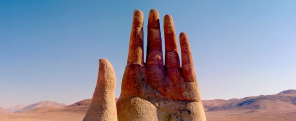 The Hand of the Atacama Desert