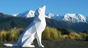 Geometric Animal Sculptures by Ben Foster