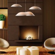 porcelain lamps in room