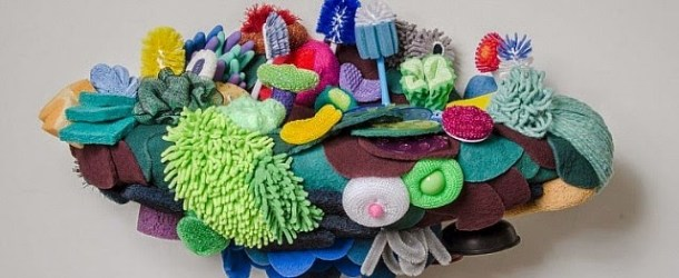 Coral Reef Sculptures Made Using Household Objects