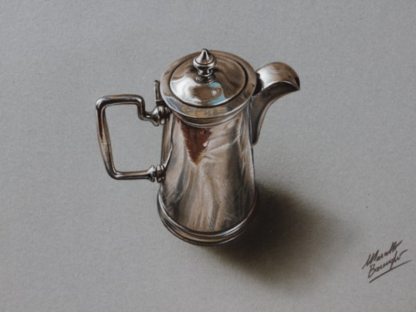 hyperrealistic drawings of everyday objects 1