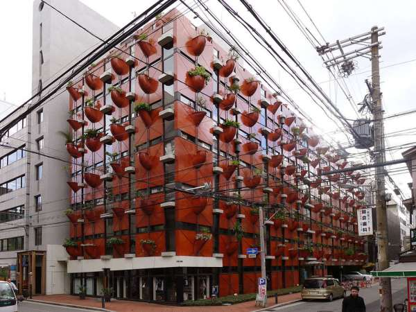 Experimental Japanese buildings 8