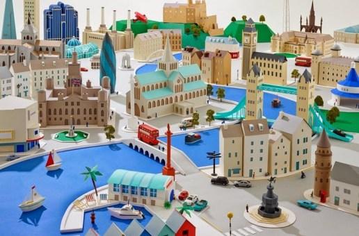 Hattie Newman's Paper Cities