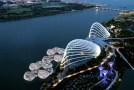 Floating Orchid Pods For Pop-up Restaurants on Singapore Waterfront