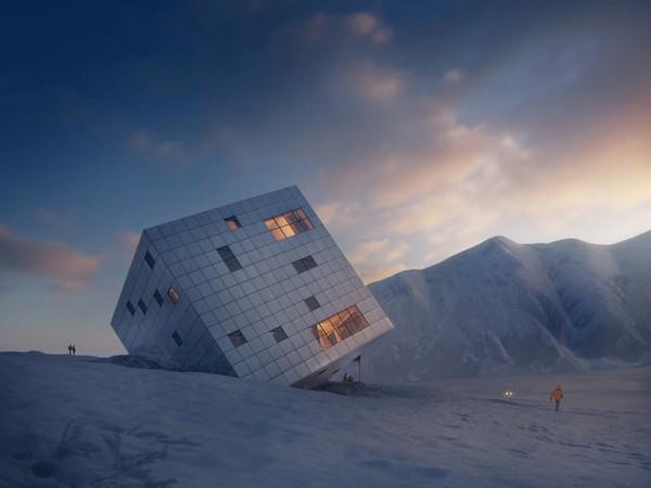 mountain lodge cube 1