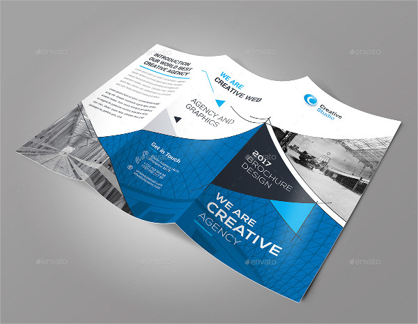 37  Tri Fold Brochure Templates   Free   Premium Download Creative Tri Fold Brochure Template PSD